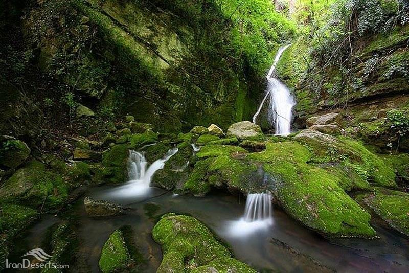 آبشار پشمکی