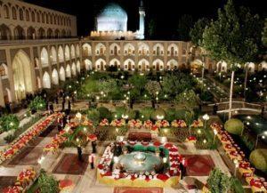 تور اصفهان هتل عباسی 5 ستاره