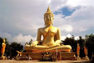معبد وات فرا یای و مجسمه بودا